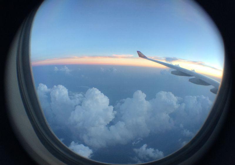 หน้าต่างเครื่องบิน