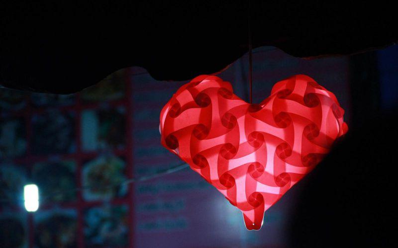 หัวใจสีแดง