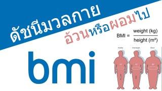 คำนวณดัชนีมวลกาย (BMI) ว่าอ้วนหรือผอมไปหรือไม่