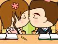 เกมส์แอบจูบกัน ในห้องเรียน
