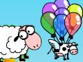 เกมส์ Barnyard balloons