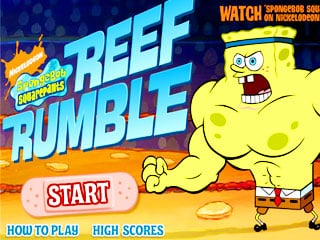 เกมส์ Spongebob Reef Rumble