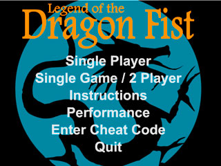 เกมส์ The Legend Of Dragon Fist