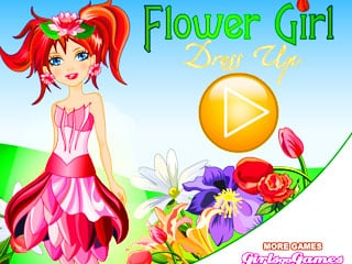 เกมส์ Flower Of Spring Dress Up