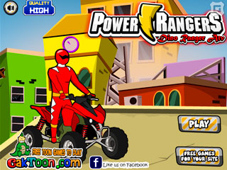เกมส์ Power Rangers Samurai Red Atv