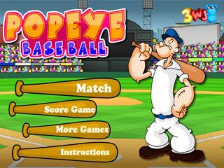 เกมส์ Popeye Baseball