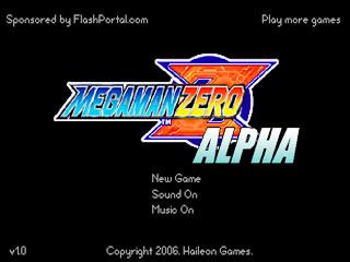 เกมส์ Megaman Zero Alpha