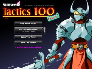 เกมส์ Tactics 100 Live