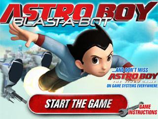 เกมส์ Astro Boy Blast-a-bot
