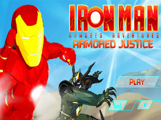เกมส์ Iron Man: Armored Justice