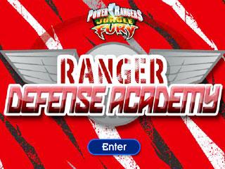 เกมส์ Power Rangers Defense Academy