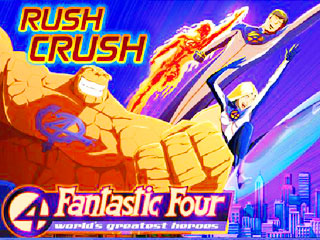 เกมส์ Fantastic 4 Rush Crush