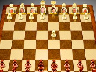 เกมส์ Obama chess