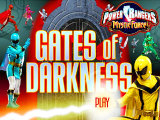 เกมส์ Power Rangers - Gates Of Darkness