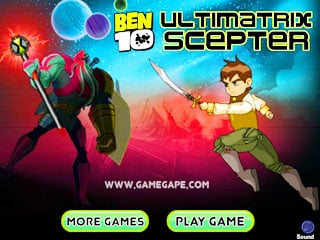 เกมส์ Ben10 Ultimatrix Scepter