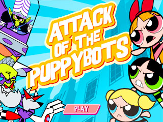 เกมส์ Attack Of The Puppy Bots