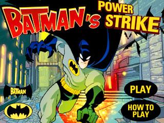 เกมส์ Batman Power Strike
