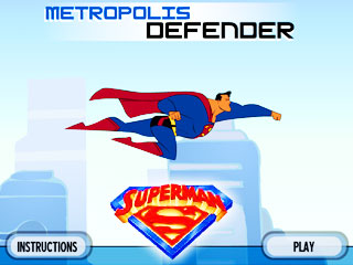 เกมส์ Superman - Metropolis Defender