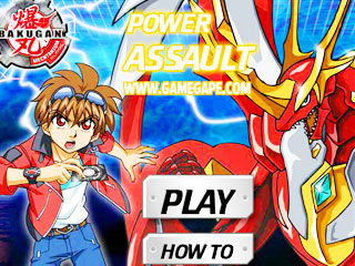 เกมส์ Bakugan Power Assault