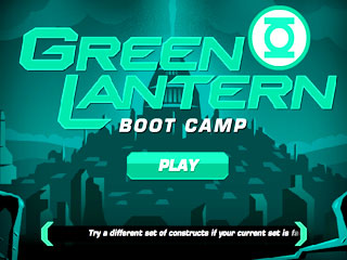 เกมส์ Green Lantern Boot Camp