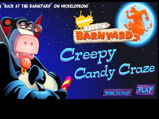 เกมส์ Creepy Candy Craze