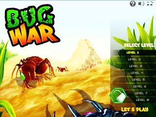 เกมส์ Bug War