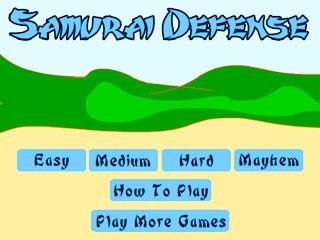 เกมส์ Samurai Defense