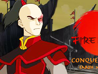 เกมส์ Avatar Fire Nation Barge Barrage