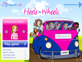 เกมส์ Heels And Wheels