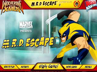 เกมส์วูฟเวอรีน Escape