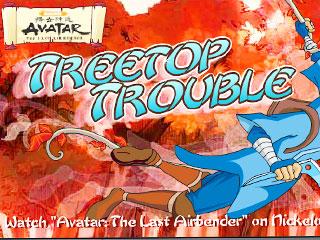 เกมส์ Avatar Tree Top Trouble