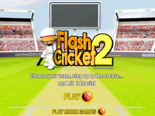 เกมส์ Flash Cricket