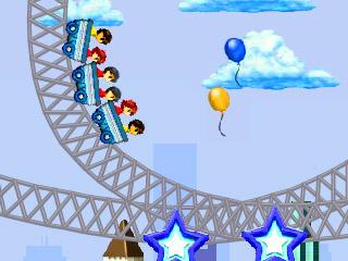 เกมส์รถไฟเหาะ Rollercoaster Rush