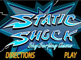 เกมส์ Static Shock - Sky Surf
