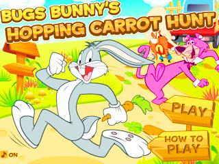 เกมส์ Bugs Bunnys Hopping Carrot Hunt