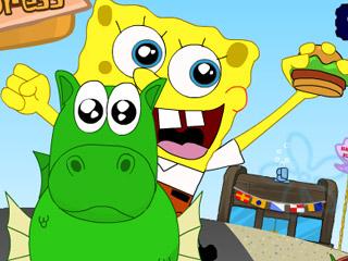 เกมส์ Spongebob Burger Express