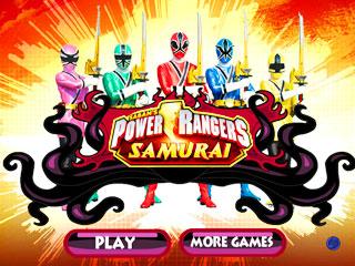 เกมส์ Power Rangers Samurai Spirit