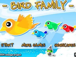 เกมส์ Bird Family