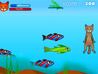 เกมส์ Diving Cat