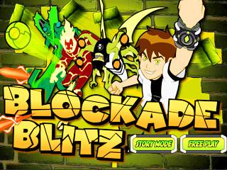 เกมส์ Ben 10 - Blockade Blitz