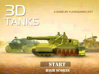 เกมส์ 3d Tanks