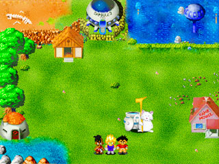 เกมส์ Dragon ball Z - village