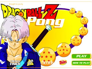 เกมส์ Dragon ball Z pong