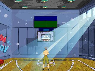 เกมส์ Basketball shooting