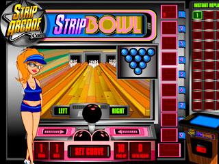 เกมส์ Strip bowl