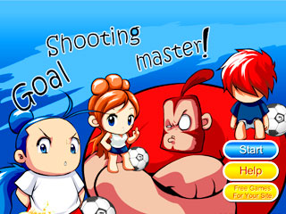 เกมส์ Goal shooting master