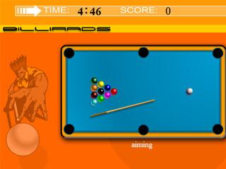 เกมส์ Billiards shooting