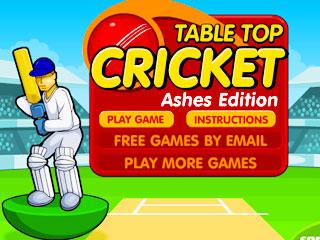 เกมส์ Table top cricket - Ashes edition