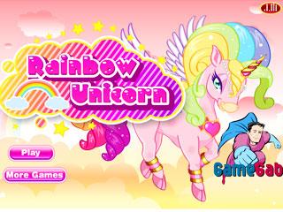 เกมส์ Rainbow Unicorn