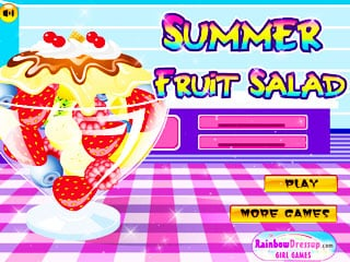เกมส์ Summer Fruit Salad